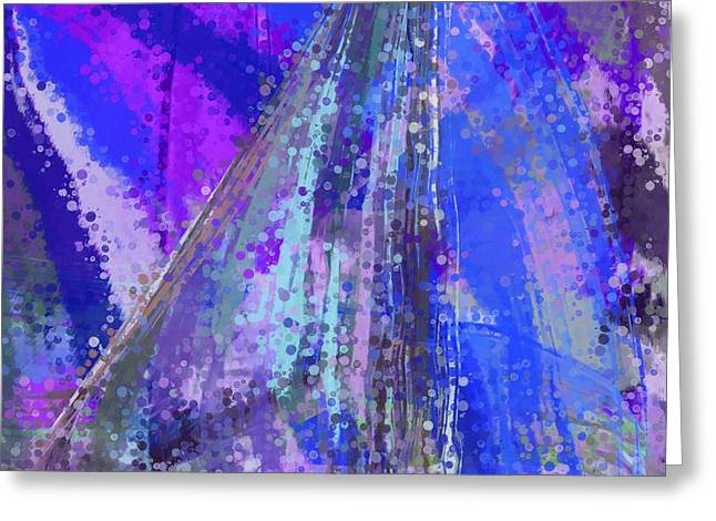 Geometric Tapestries - Textiles Greeting Cards - Sweet Sailing Dreams Greeting Card by Suzi Freeman