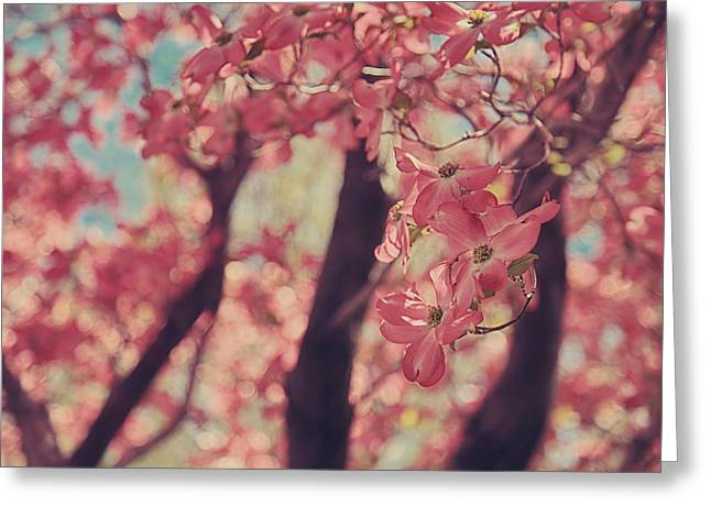 Flowering Tree Greeting Cards - Sweet Sweet Love Greeting Card by Laurie Search