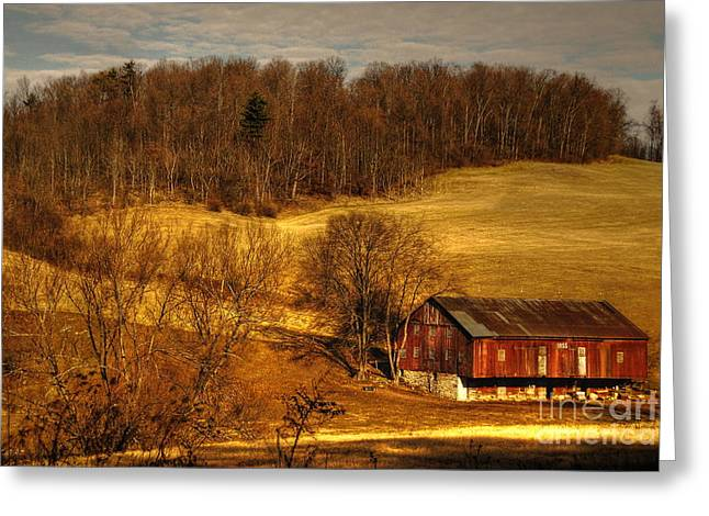 Pa Barns Greeting Cards - Sweet Sweet Surrender Greeting Card by Lois Bryan