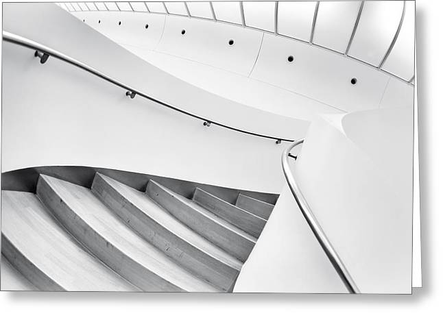 Staircase Greeting Cards - Swinging Staircase Greeting Card by Gerard Jonkman