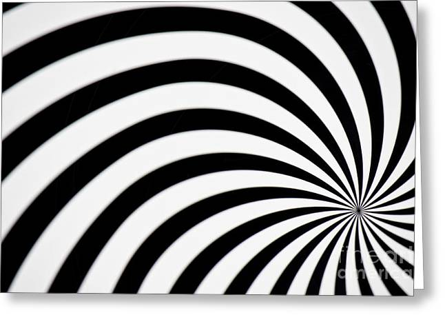 Roundabout Greeting Cards - Swirl Greeting Card by Angela Doelling AD DESIGN Photo and PhotoArt