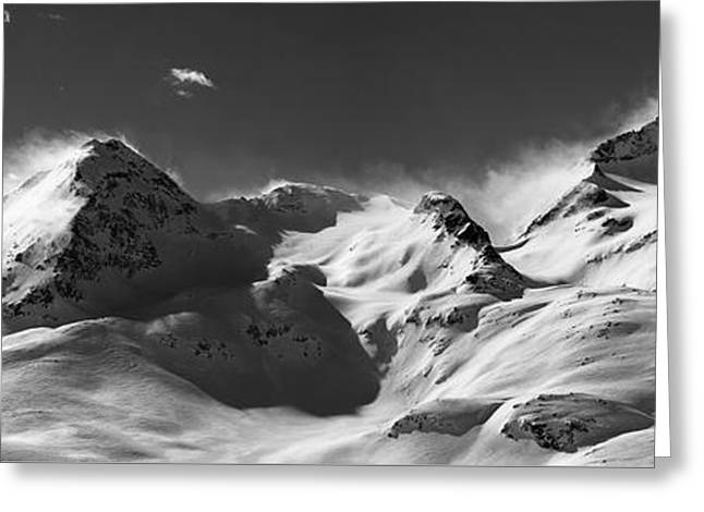 Swiss Photographs Greeting Cards - Swiss Alps Greeting Card by Marc Huebner