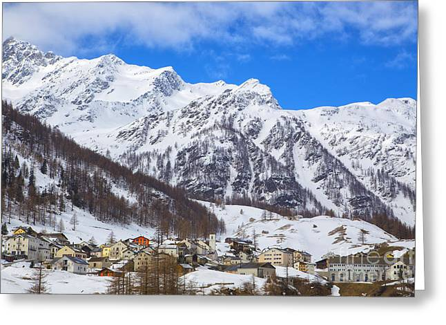 Swiss Photographs Greeting Cards - Swiss Nature Greeting Card by Omar Dakhane