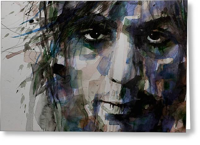 British Portraits Greeting Cards - Syd Barrett Greeting Card by Paul Lovering