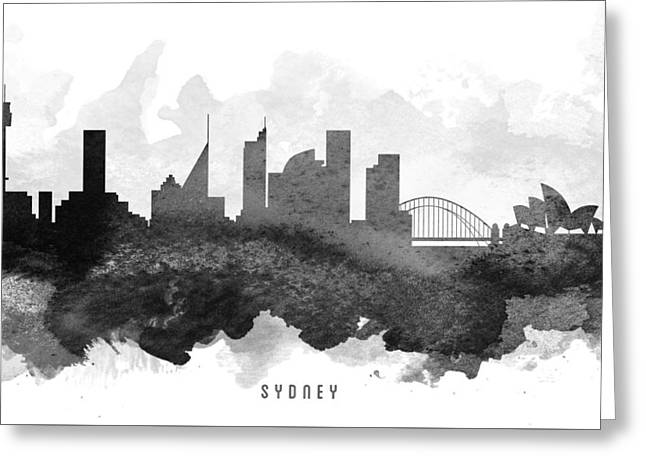 Sydney Cityscape 11 Greeting Card by Aged Pixel