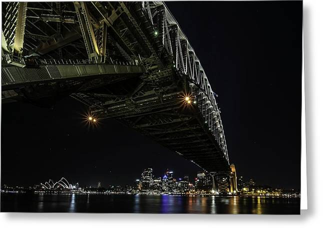 Sydney Harbour Greeting Cards - Sydney Harbour Greeting Card by Giovanni Casini