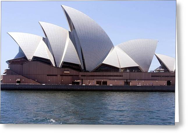 Bamboo House Greeting Cards - Sydney Opera House Greeting Card by Ilija Markovski