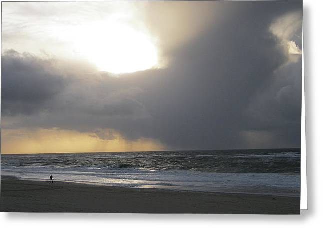 Sylt The Elements Greeting Card by Heidi Sieber