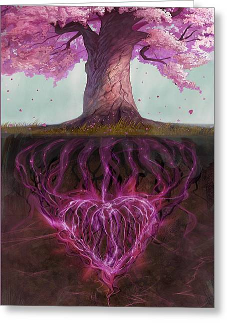 Symbolism Of Marriage Greeting Card by Steve Goad