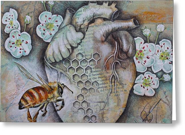 Synergy Greeting Card by Sheri Howe