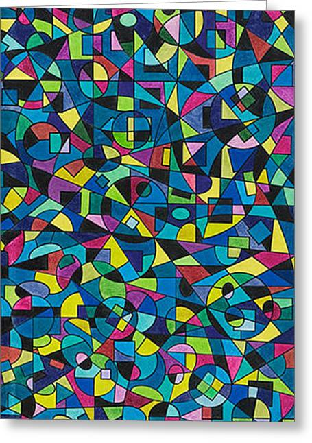 Synesthetic Ramsey Lewis Greeting Card by George Sanen