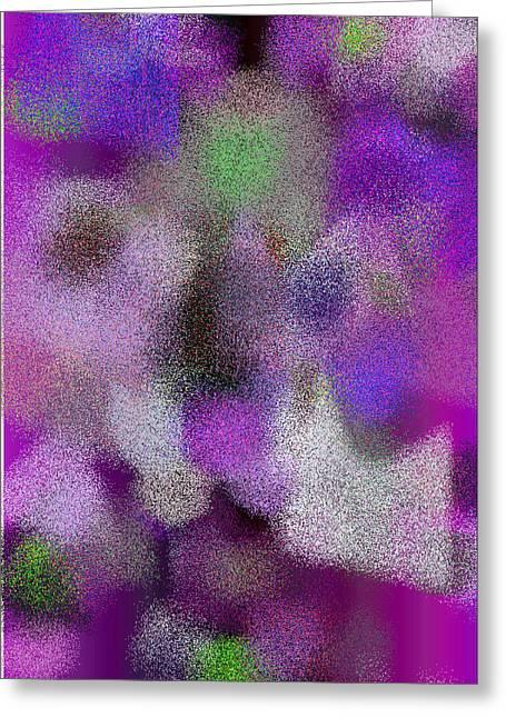 White Digital Art Greeting Cards - T.1.1614.101.5x7.3657x5120 Greeting Card by Gareth Lewis