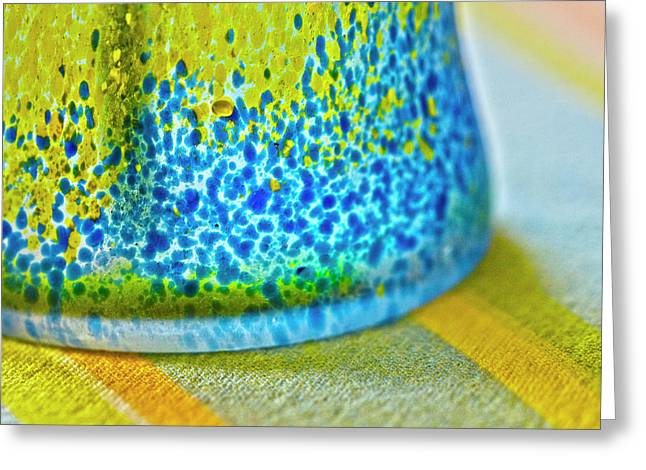 Glass Vase Greeting Cards - Table decoration Greeting Card by Heiko Koehrer-Wagner