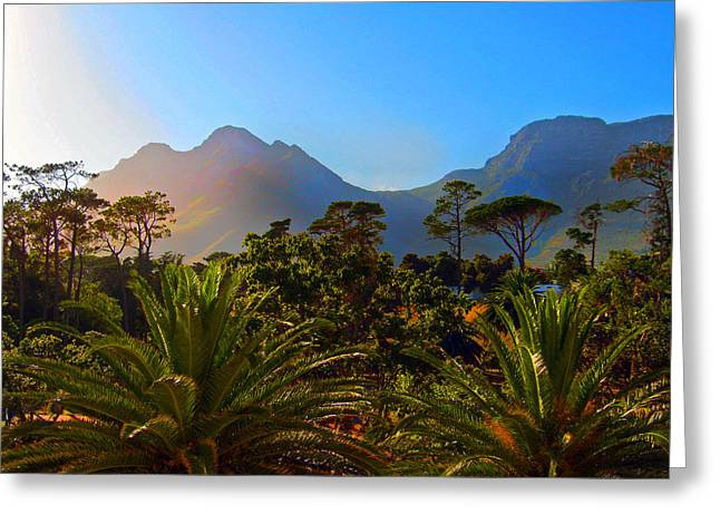 Cape Town Greeting Cards - Table Mountain 1 Greeting Card by Michael Durst