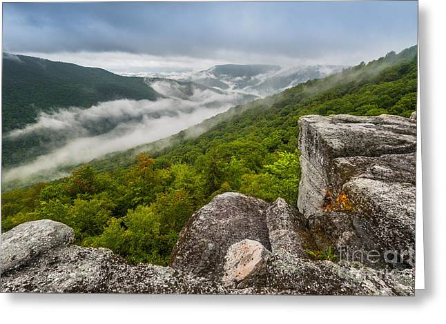 Landscape Greeting Cards - Table Rock D80002419 Greeting Card by Kevin Funk