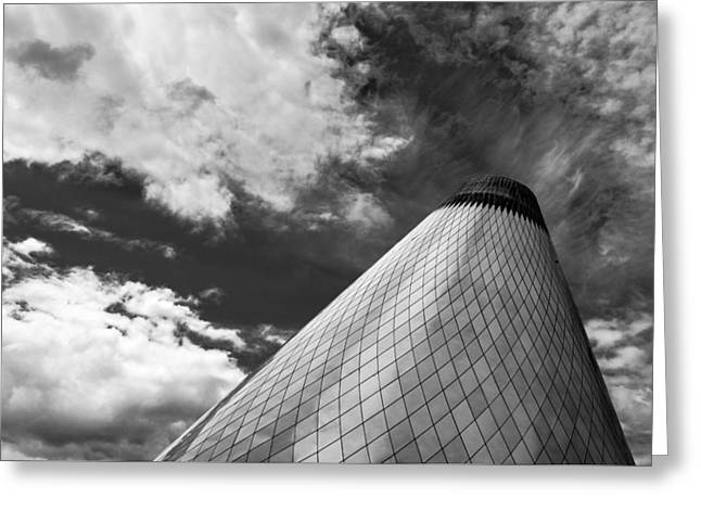 Tacoma Museum Of Glass Greeting Card by Thorsten Scheuermann