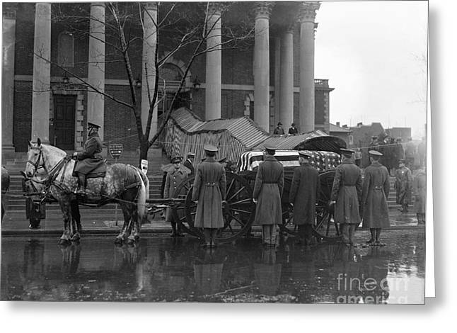 Republican Greeting Cards - Taft Funeral, 1930 Greeting Card by Granger