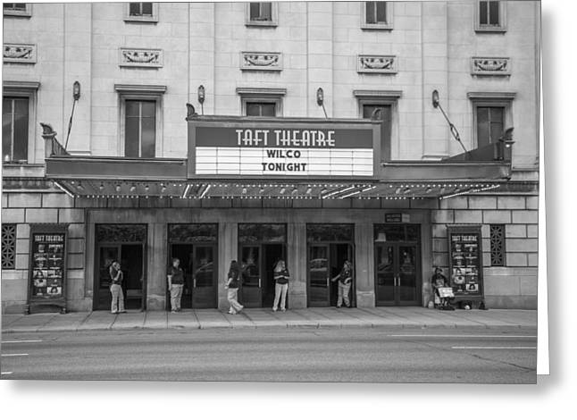 Taft Greeting Cards - Taft Theatre Cincinnati Ohio Greeting Card by John McGraw
