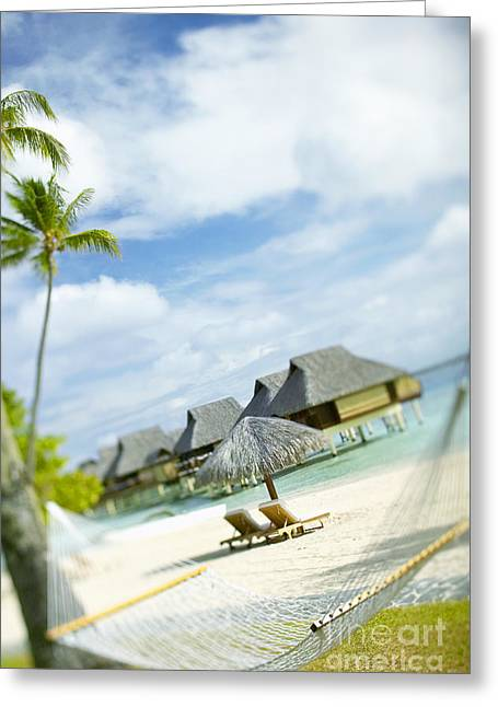 10-pfs0196 Greeting Cards - Tahiti, Bora Bora Greeting Card by Kyle Rothenborg - Printscapes