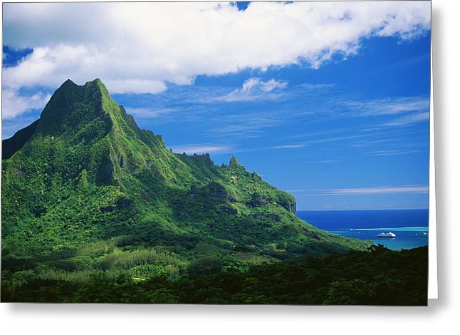 Cavataio Greeting Cards - Tahiti, Moorea Greeting Card by Vince Cavataio - Printscapes