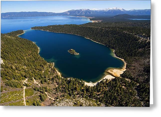South Lake Tahoe Greeting Cards - Tahome Greeting Card by Brad Scott