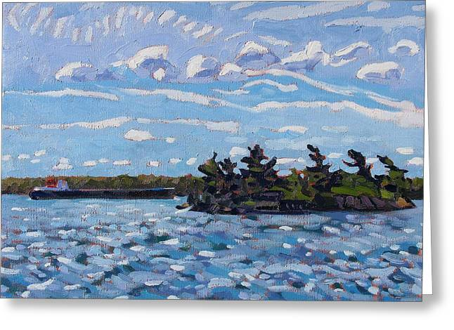 The Lakers Greeting Cards - Tail Wind Greeting Card by Phil Chadwick