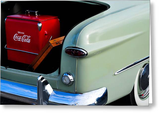 Lyle Huisken Greeting Cards - Tailgater Greeting Card by Lyle  Huisken