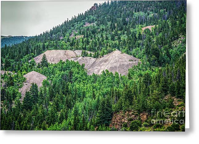 Tailings Greeting Card by Jon Burch Photography
