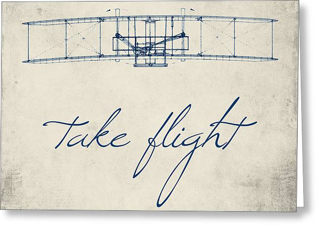 Take Flight Greeting Card by Brandi Fitzgerald
