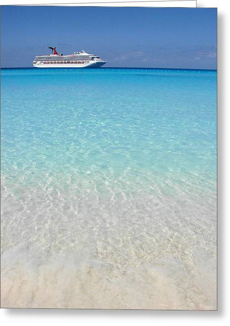Half Moon Cay Greeting Cards - Take Me Back to Half Moon Cay Greeting Card by Margaret Bobb