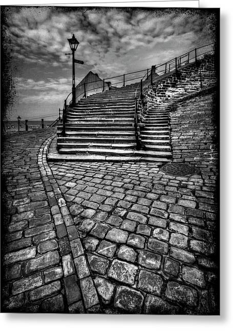 Whitby Greeting Cards - Take Me Higher Greeting Card by Evelina Kremsdorf