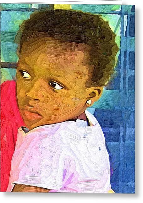 Ghana Greeting Cards - Take  Me Home Greeting Card by Deborah MacQuarrie