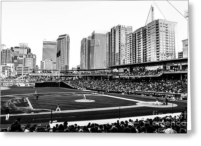 Charlotte Homes Greeting Cards - Take Me Out to the Ballgame Greeting Card by Robert Yaeger