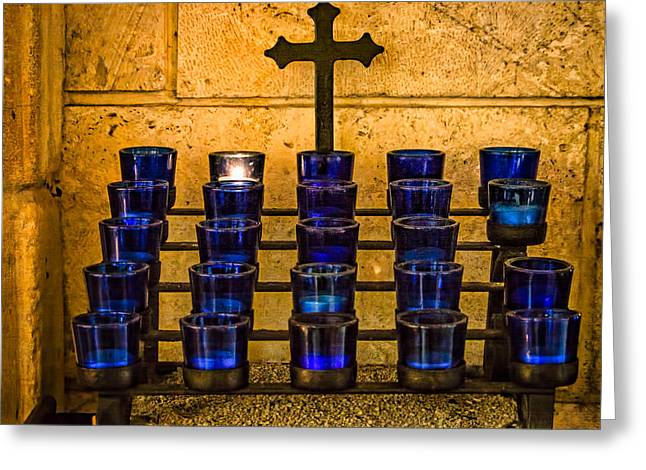 Candle Lit Greeting Cards - Take Me To Church Greeting Card by Robin Zygelman