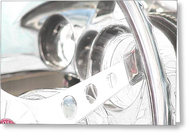 Subtle Colors Greeting Cards - Take on Vette Greeting Card by Kevin  Sherf