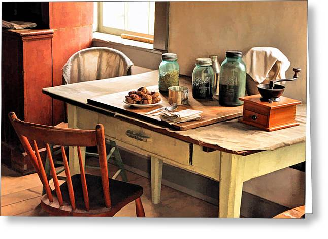 Taking A Break Greeting Cards - Taking a Break at Old World Wisconsin Greeting Card by Christopher Arndt