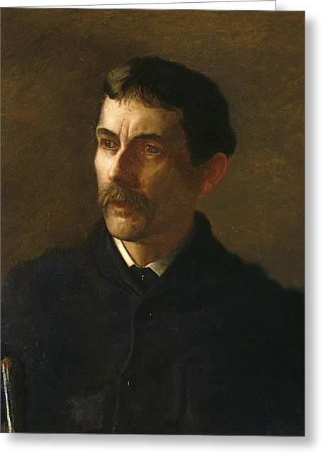 Talcott Williams Greeting Card by Thomas Eakins