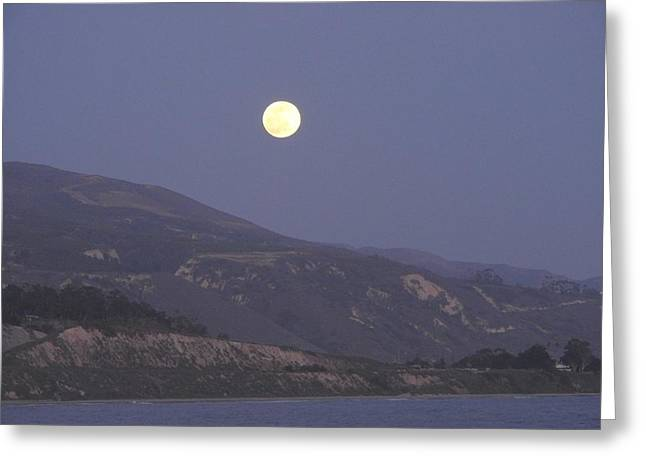 Rincon Greeting Cards - Talking To The Moon Greeting Card by Beth Cox