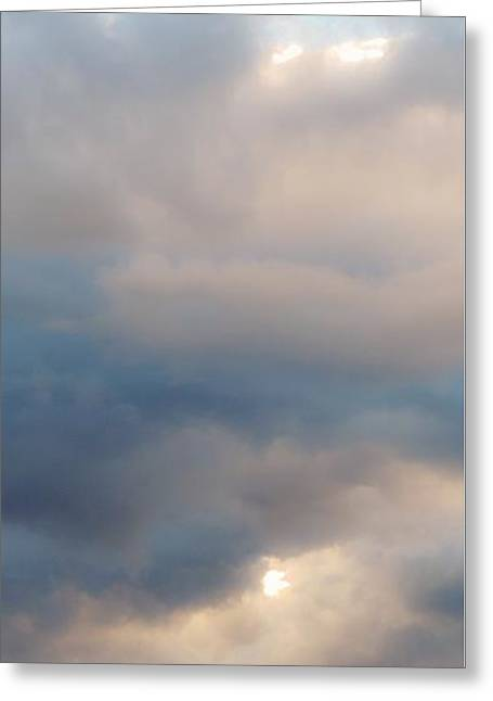 M Bobb Art Greeting Cards - Tall Atmosphere Greeting Card by Margaret Bobb