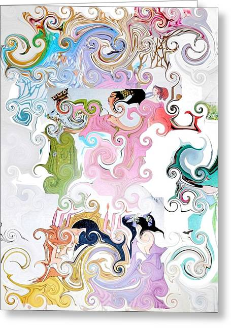 Empowerment Greeting Cards - Tall Tale Greeting Card by Melanie Light