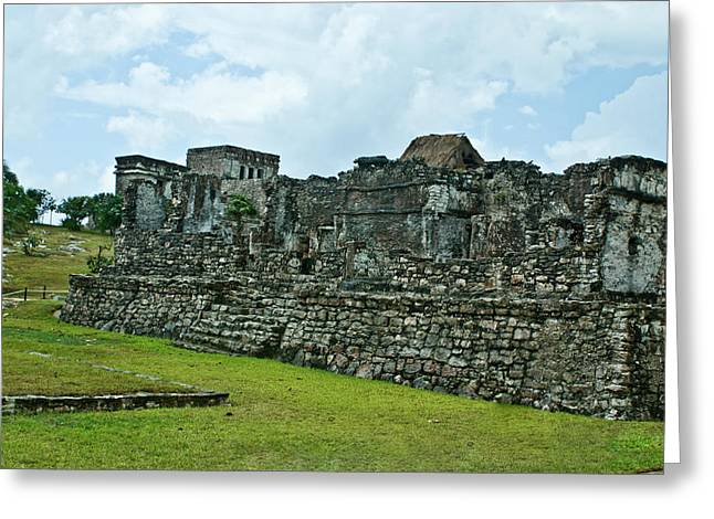 Solidity Greeting Cards - Talum Ruins 3 Greeting Card by Douglas Barnett