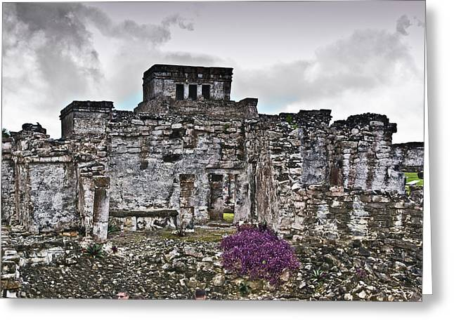 Solidity Greeting Cards - Talum Ruins 6 Greeting Card by Douglas Barnett