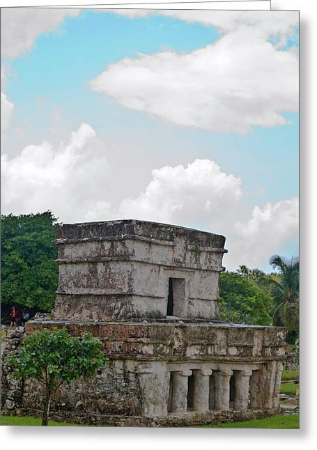 Solidity Greeting Cards - Talum Ruins 7 Greeting Card by Douglas Barnett