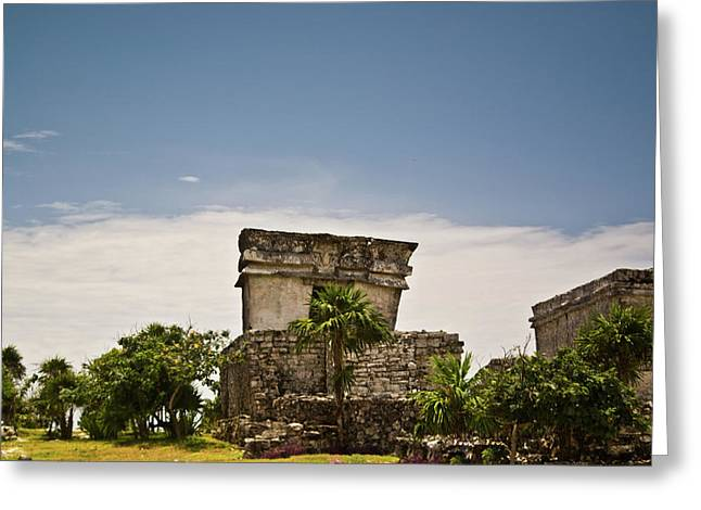 Solidity Greeting Cards - Talum Ruins11 Greeting Card by Douglas Barnett
