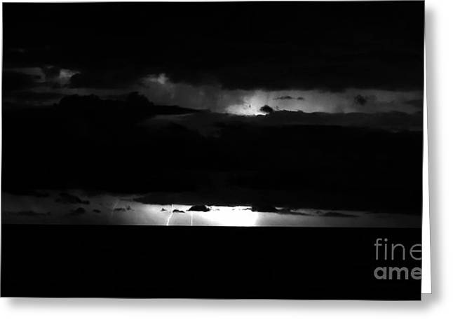 Photography Lightning Greeting Cards - Tampa Bay Lightning Greeting Card by David Lee Thompson