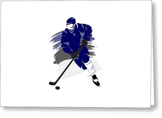 Tampa Bay Greeting Cards - Tampa Bay Lightning Player Shirt Greeting Card by Joe Hamilton
