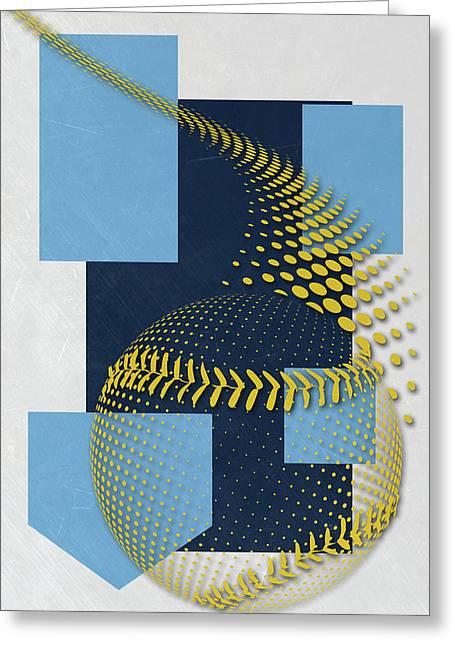 Tampa Bay Rays Art Greeting Card by Joe Hamilton