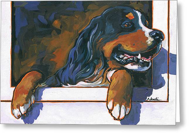 Nadi Spencer Greeting Cards - Tank Greeting Card by Nadi Spencer
