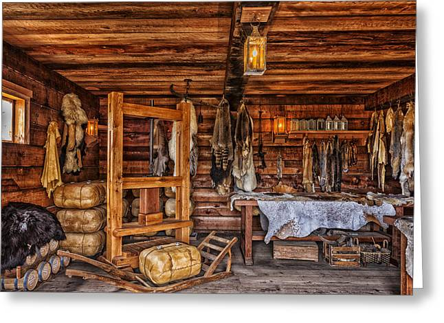 Tanning Room - Fort Ross California Greeting Card by Mountain Dreams