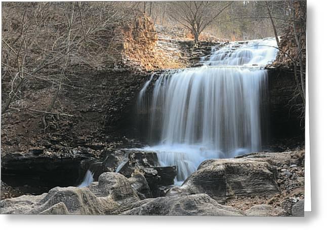 Tanyard Creek Arkansas Greeting Card by Lourry Legarde